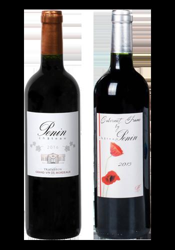 """Gamme de vins """"Les fruités Gourmands"""" Château Penin"""